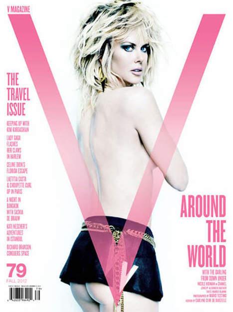 Photo : Nicole Kidman montre ses fesses dans V Magazine | Nicole Kidman | Scoop.it