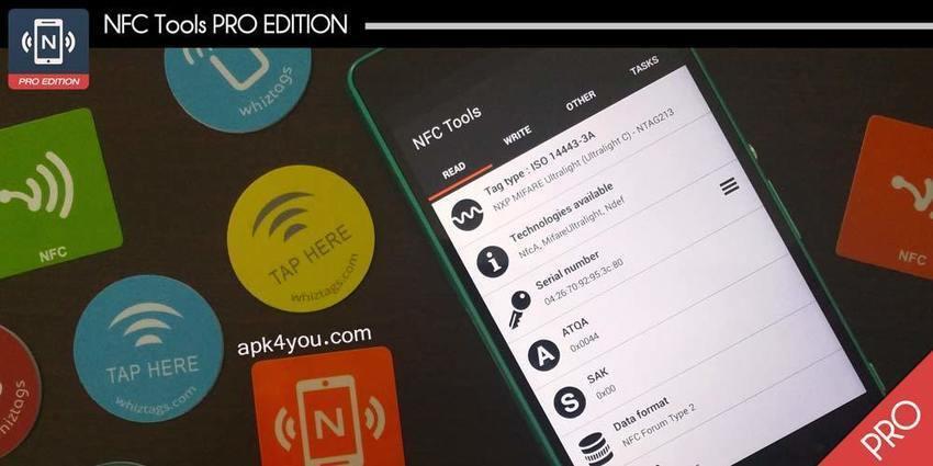 NFC Tools – Pro Edition v2 9 build 78 APK