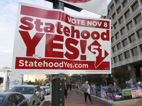 D.C. Votes Overwhelmingly To Become 51st State | World History - SHS | Scoop.it