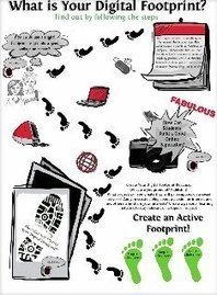 what is your digital footprint?: digital footprint | Glogster EDU - 21st century multimedia tool for educators, teachers and students | K12 Digital Citizenship Resources | Scoop.it