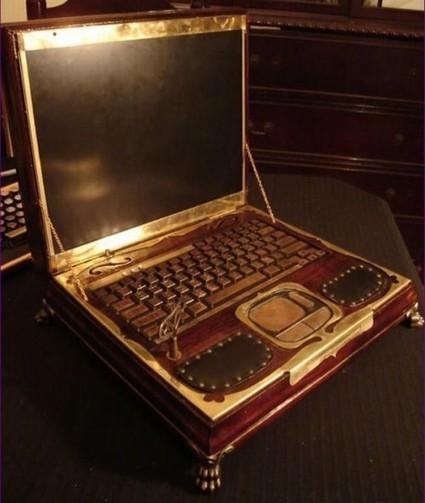 SteamPunk Notebook | Haylaz Teknoloji Ürünleri | Scoop.it