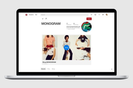 Your big, beautiful new showcase | Pinterest for Business | Scoop.it