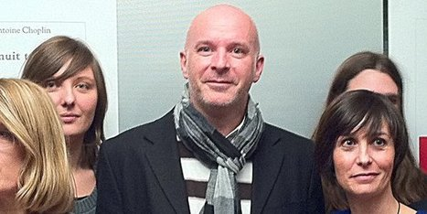 Antoine Choplin lauréat du prix Roman France Télévisions 2012   Culturebox   BiblioLivre   Scoop.it