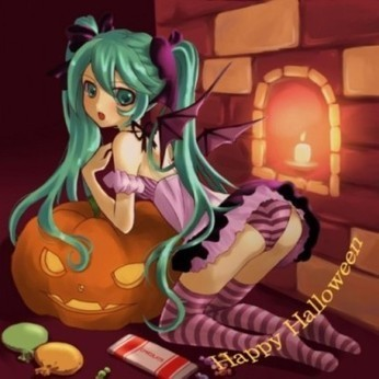 Oxymoron fractal : Halloween with Miku | The Blog's Revue by OlivierSC | Scoop.it