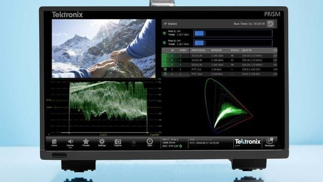 Tektronix Assists with AIMS Alliance, EBU and IRT to Design and Execute JT-NM Testing of SMPTE 2110 Devices