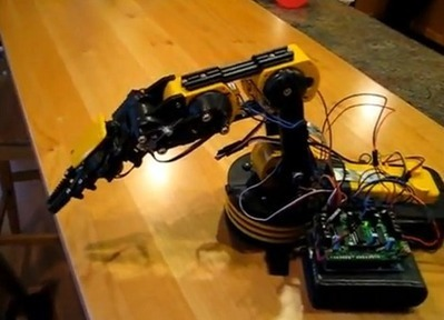 I'll see your Launchpad controlled arm and raise you Arduino controlled autonomy   Arduino Focus   Scoop.it