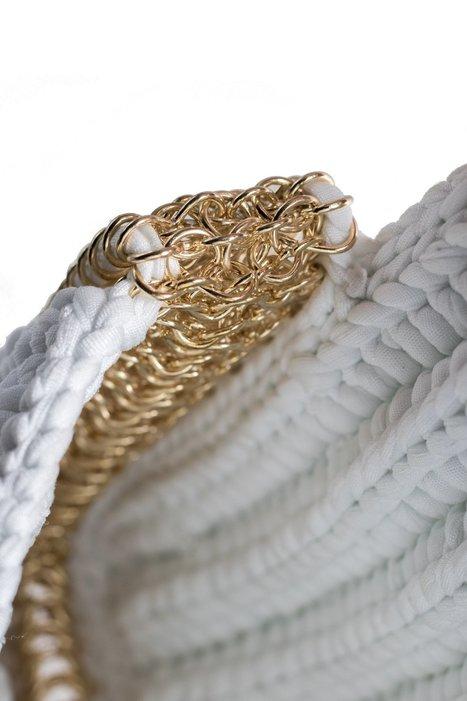 Weaved Chain Handbag | Fiber Arts | Scoop.it