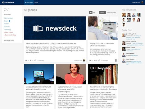 Collecter, partager et collaborer avec Newsdeck... | Infodoc, Veille et e-reputation | Scoop.it