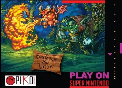 Dork and Ymp: un jeu Super Nintendo sorti d'outre tombe!   Vade RETROGames sans tanasse!   Scoop.it