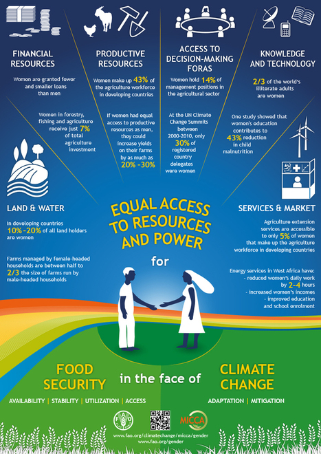 Equal access to resources and power for food security in the face of climate change | Gender & Protection in East Africa | Scoop.it
