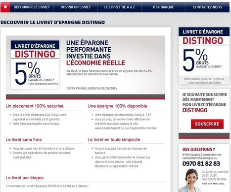 PSA Banque : Le Livret DISTINGO, Notre Avis, Nos Conseils! | crédit : Divers, humour et vidéos | Scoop.it