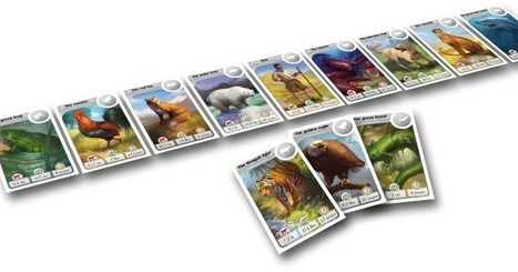 Teach Through Games: CardLine Animals | Sam Blanco | playbased learning | Scoop.it