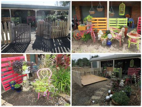 Diy Pallet Garden Projects In 1001 Pallets Ideas Scoop It