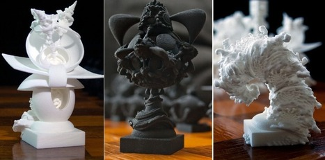 Fractal Artist Shows Stunning Strategy in Creating 3D Printed Surreal Chess Set | tecnologia s sustentabilidade | Scoop.it