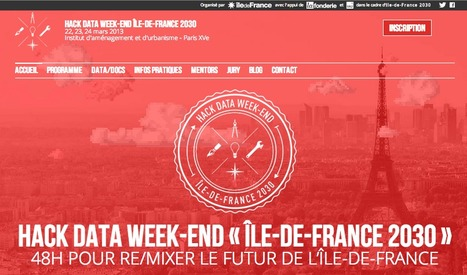 Hack Data Weekend IDF 2030 | Opinion et tendances numériques | Scoop.it
