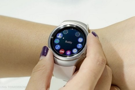 Samsung imagine une smartwatch qui projette son écran sur votre main | Technologie Au Quotidien | Scoop.it