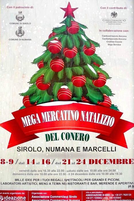 Numana Riviera del Conero: Mega Mercatino Natalizio del Conero | Le Marche un'altra Italia | Scoop.it
