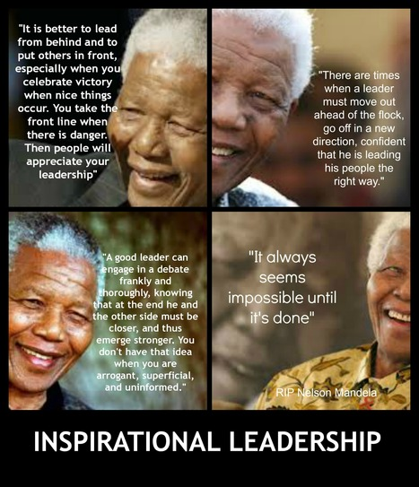 4 Inspirational Leadership Quotes from a Legendary Leader | Amoria Bond:  Consultants in Recruitment | Scoop.it