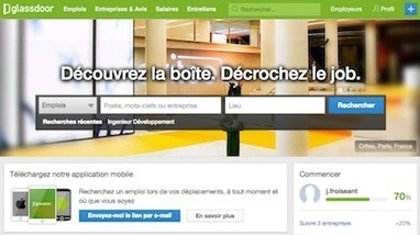 Scoop #emploi : Glassdoor lance son site France à l'assaut des jobboards et de la marque employeur | RSE | Scoop.it