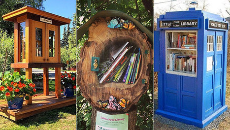 23 of the most creatively designed Little Free Libraries | School libraries are vital | Scoop.it