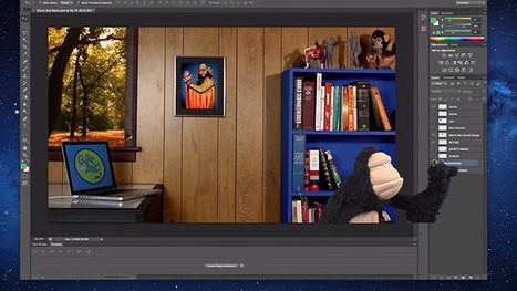 A Beginner's Tutorial on Using Photoshop Layers, Sesame Street-style   Photoshop   Scoop.it