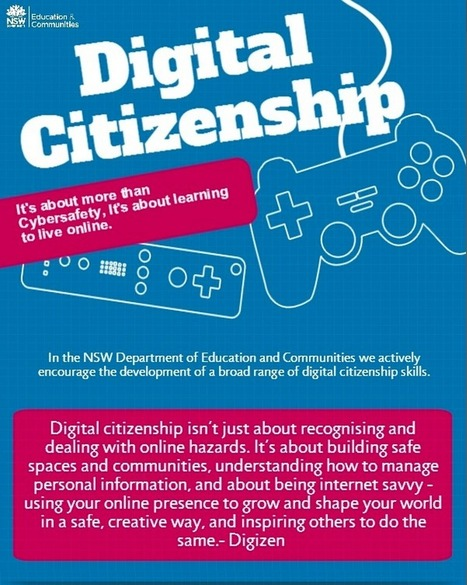 A Good Digital Citizenship Resource and Poster for Teachers ~ Educational Technology and Mobile Learning | Digital Literacy for a digital-by-default education landscape | Scoop.it