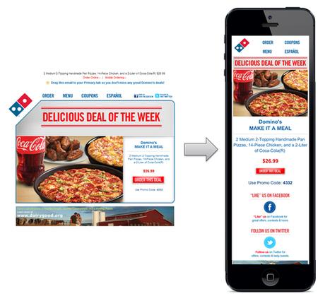 Creating Mobile Email That Works | Les Enjeux du Web Marketing | Scoop.it