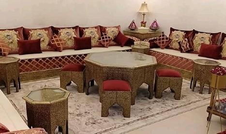 Vente salon marocain moderne 2019 à Mont...