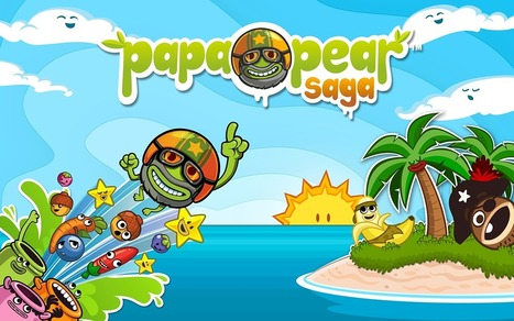 Papa Pears Saga, c'est plus fort que ... Candy Crush - La sale Com | heaven | Scoop.it