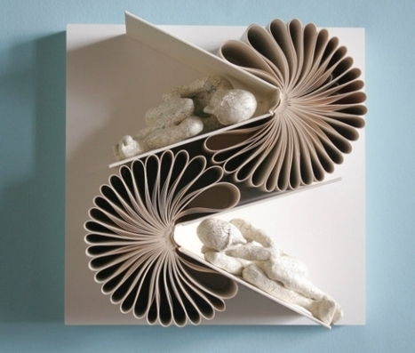 Populaire Du recyclage d'art : les sculptures de livre -  GH76