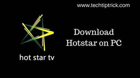 hot star app for pc