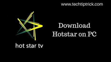 download hotstar app for pc' in Tech Blog, SEO, Blogging