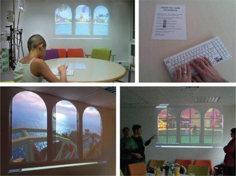 Fenêtre sur chambre : L'Art numérique au service d'enfants hospitalisés (2011) | Web et Social | Scoop.it