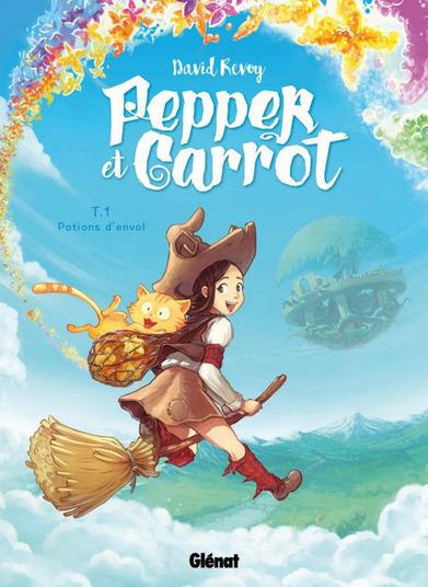 Pepper et Carrot : une bande dessinée Open Source publiée chez Glénat | Libre de faire, Faire Libre | Scoop.it