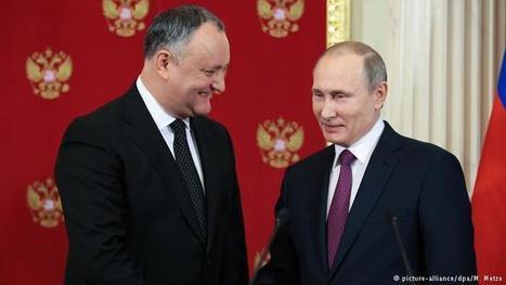 Путин пообещал Додону в обмен на отказ от ЕС вернуть Приднестровье – DW | Global politics | Scoop.it