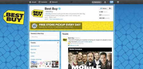 Comment Les Marques Utilisent-Elles Leurs Pages Twitter ? | Agence Profileo : 100% e-commerce Prestashop | Scoop.it