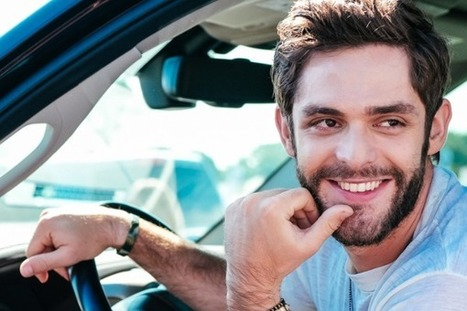 Thomas Rhett's 'Die A Happy Man' Goes No.1 | Country Music Today | Scoop.it