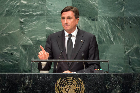 UN News - Slovenia sets sight on educating youth for digital transformation, President tells UN Assembly | Opening up education | Scoop.it