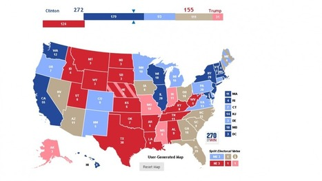 2016 Electoral College Map Projections for the ...