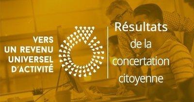 Résultat de la consultation citoyenne sur le revenu universel d'activité