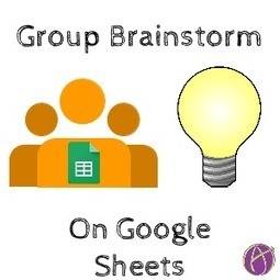 Group Brainstorm a Topic with Google Sheets - Teacher Tech | SciTEACH21Cscoop | Scoop.it