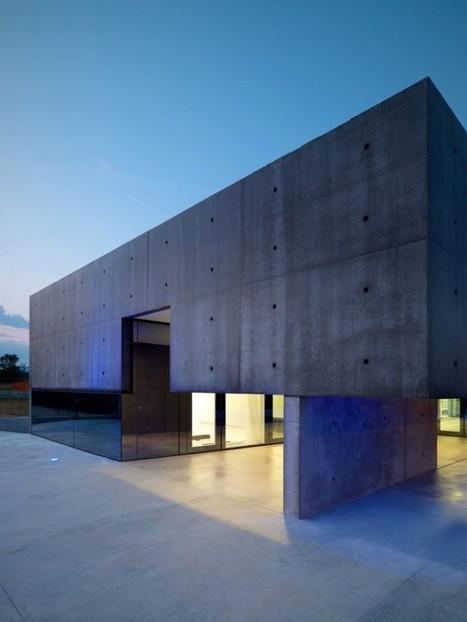 Villa design en béton en Itali | Conseil construction de maison | Scoop.it