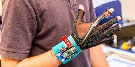 These gloves can convert sign language into spoken English | Cognitive Enhancement Technologies | Scoop.it