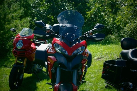 Art Buhlmann's Open House on Two Generations of Ducati Multistrada   Ductalk Ducati News   Scoop.it