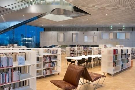 Nouveau. Découvrez en images la grande bibliothèque Alexis-de-Tocqueville, à Caen | La vie des BibliothèqueS | Scoop.it