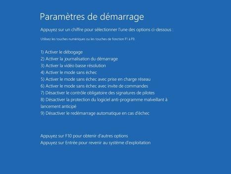 Démarrer Windows 10 en mode sans échec | Informatique | Scoop.it