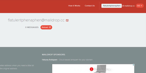 MailDrop is a free E-mail Inbox Alternative | Bazaar | Scoop.it