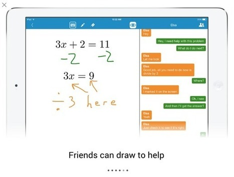 Free Technology for Teachers: Math Chat - Solve Problems Together in Real Time | Hogeschool Rotterdam ICT in het Onderwijs | Scoop.it