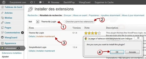 Comment personnaliser la page d'inscription Wordpress ! | Time to Learn | Scoop.it