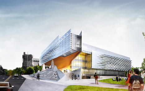 Innovation + Technology at Cornell University's Gates Hall by Morphosis | Digital Fabrication in Architecture, Engineering and Construction | Scoop.it